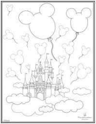 Disneyland Castle Coloring Pages 10 Coloriage Pinterest With The Most Awesome As Well Attractive Disney