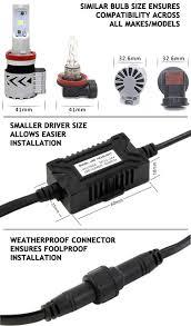 crystalux xhp series led headlight bulbs h13 for ford f 150