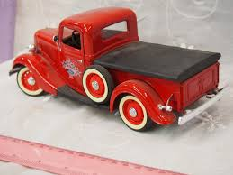 1940 Ford Truck Die Cast Mental Collector Replica & A 1996 Ford V8 ...