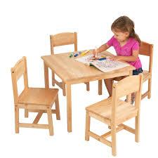 Step 2 Dx Art Master Activity Desk by Kidkraft Farmhouse Table U0026 4 Chair Set Espresso Walmart Com