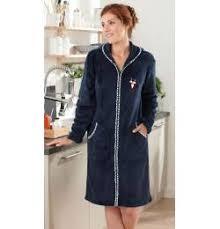 robe de chambre polaire femme zipp la de nuit par françoise saget