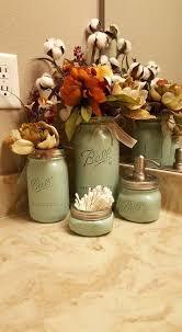 Rustic Decor Mason Jar Soap Dispenser Bathroom Set Housewarming Wedding Gift Farmhouse Western