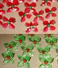 Bulbs For Ceramic Christmas Tree by 12 Rare Holly Poinsettia Light Bulbs For Ceramic Christmas Tree