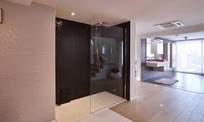 separation salle de bain verre pour la salle de bain chez vous