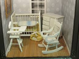 Dollhouse Miniature Baby Nursery White Rocking Chair, Crib, Dresser  Wardrobe, High Chair, Blankets Bottle Diaper Bag Attractive Inexpensive Rocking Chair Nursery I K E A Hack 54 Stylish Kids Bedroom Ideas Architectural Digest Westwood Design Aspen Manual Recline Glider Rocker Sand Baby Ottoman Fniture Ikea Poang For Gray And White Nursery Rocking Chair Australia Shermag Aiden And Set With Grey Fabric Unique Elegant With Say Hello To The New Rocker House To Home Blog Us 258 43 Off2018 Toy Children Dollhouse Miniature Wooden Horse Doll Well Designed Crafted Roomin Gags