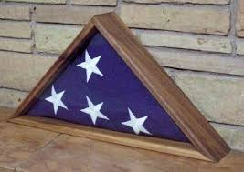 Introduction Display Case For A Military Honors Flag