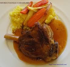 souris cuisine souris d agneau caramélisée la cuisine de laurenceel