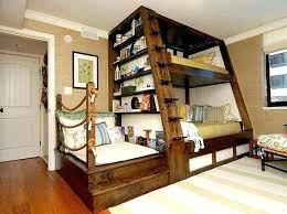 Full Loft Bed Desk Bunk Beds With Design Queen Ikea – interque