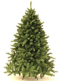 9 Foot Spruce Artificial Tree Unlit Christmas Trees Lowes