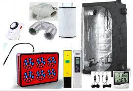kit chambre culture l éco complet chambre de culture intérieure hydroponique 80x80x160
