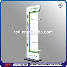 Product Display Stands Floor Standing Hair Conditioner Rack Metal