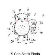 Owl With A Lantern