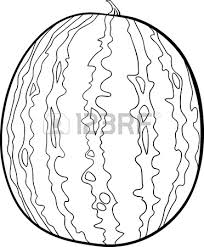 Black And White Cartoon Illustration Watermelon Fruit Food Royalty Free Cliparts Vectors And Stock Illustration Image