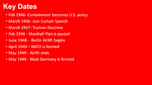 Churchill Iron Curtain Speech Video by 26 1 Origins Of The Cold War Ppt Video Online Download
