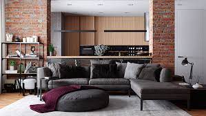 104 Interior Design Loft On Behance