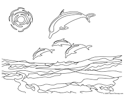 Coloring Pages Beach Pictures To Color Free Printable