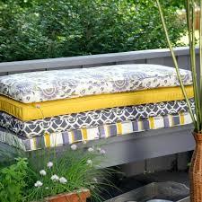 Patio Bench Cushions Walmart by Patio Furniture Cushions On Sale Garden Bench Ebay Outdoor