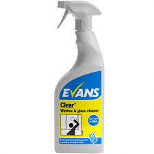 100 Evans Glass Cleaner 06220 Clear Window And 750ml From AD Supplies