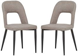 Rivet Florence Mid-Century Modern Wide Open-Back Accent Kitchen Dining  Chairs, 18.8