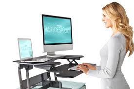 Varidesk Pro Plus 36 by Washington Post Standing Desks Are Becoming The U201cnew Normal U201d In