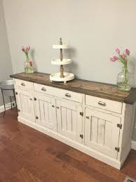 Dining Room Buffet Contemporary Elegant So Pretty Love The Two Tone Finish Rustic