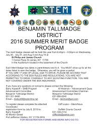 100 Truck Transportation Merit Badge Summer Program Benjamin Tallmadge District