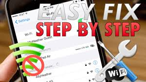 How to Fix iPhone won t connect to WiFi Not connecting or Slow