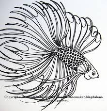 Betta Fish Drawing