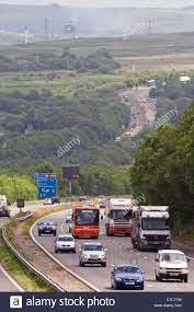 100 Vans Cars And Trucks Traffic On A Busy Road With Trucks Lorries Vans And Cars Stock Photo