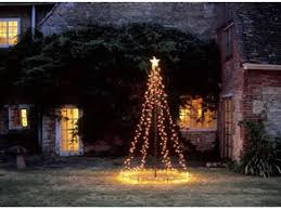 Hanging Light Christmas Tree Flagpole Adapter