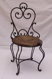 Wood Iron Made Chair And Tables Manufacturer