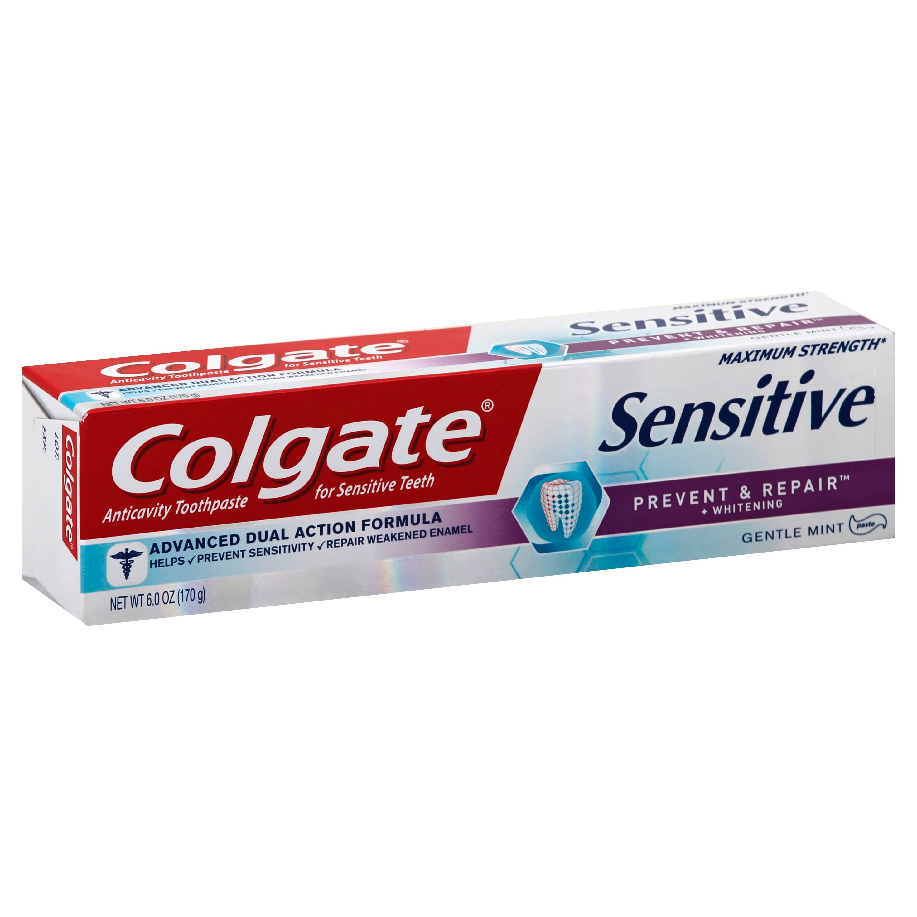 Colgate Sensitive Prevent and Repair Toothpaste