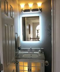 lighted bathroom mirror wall mount bath makeup mounted house apply