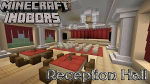 Best Living Room Designs Minecraft by Minecraft Indoors Interior Design Reception Hall Youtube