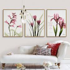 Beautiful Gorgeous Pretty South African Flowers Oil Painting Canvas Fabric Artwork Aesthetic Wall Picture For Bedroom