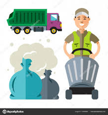Garbage Truck And Collector. Flat Style Colorful Cartoon ... Amazoncom Ggkg Caps Cartoon Garbage Truck Girls Sun Hat Waste Collection Rubbish Stock Illustration Garbage Truck Cartoons For Children Cars Kids Cartoon Google Search Birthday Party Ideas And Collector Flat Style Colorful Decorative Fabric Shower Curtain Set Red Isolated On White Background Side View Vector Toy Royalty Highquality Women Zipper Travel Kit Canvas Trucks