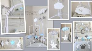 chambre bébé nuage mobile adition limitae moda le daposa collection et chambre bébé