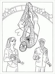 30 Spiderman Colouring Pages