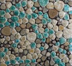 porcelain tile flooring ceramic mosaic shower pebble tiles kitchen