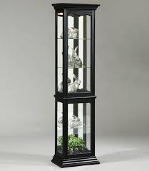 pulaski furniture curios oxford black curio cabinet darvin