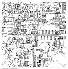 San Francisco Steve McDonalds Colouring Book Fantastic Cities A Of Amazing