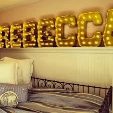 light up words typography decor 10 ways to wow with words
