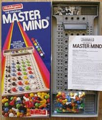 Waddingtons Mastermind Game From 1984 Board
