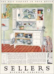 1923 Sellers Kitchen Cabinets Vintage Kitchen Design