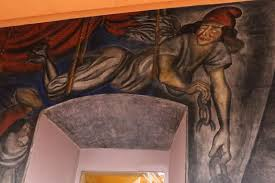 Jose Clemente Orozco Murales San Ildefonso by Mexico City Ambles Mexican Revolution And Mexican Muralists