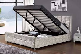 Ebay King Size Beds by Remarkable King Size Ottoman Storage Bed King Size Ottoman Bed
