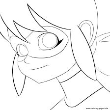 Miraculous Ladybug Smile Coloring Pages