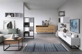 details zu wohnzimmer set rustikal elemente enjoy wohnwand kommode modern 3 farbig