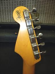 Fender John Mayer Stratocaster Olympic White USA L Oppleman