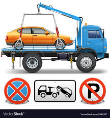 100 Tow Truck Vector Royalty Free Image Stock